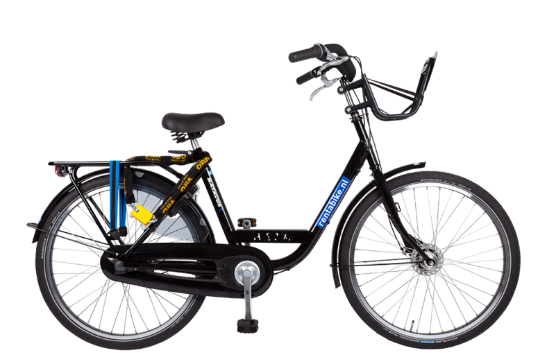 Stadsfiets huren Rent a bike Amsterdam