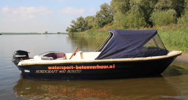 5-persoons sloep huren Biesbosch